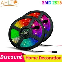 Strips 5M roll 2835 3528 SMD LED Lights With Waterproof Flexible Bedroom TV Car Architectural Personality Christmas Decoration Lighting