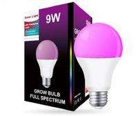 Großhandel 9W Grow Lights Full Spectrum Birne Phyto Lampe mit E27 Base (18 stücke LEDs)