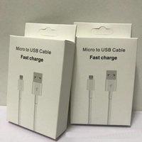 Typ-C USB-Kabel Gute Qualität für LG Xiaomi Fast Ladedatum Kabel C Typ Ladekabel für Samsung-Mobiltelefonkabel mit Kleinkasten