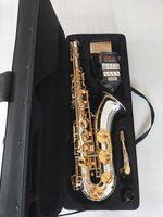 Sassofono del tenore giapponese di alta qualità Yanagisawa T-W037 strumento musicale placcato in argento oro promozionale con regalo accessori