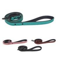 Dog Collars & Leashes Leash Harness Leather Lead Pet Puppy Walking Running Training Rope Belt For Small Medium Large Dogs Supplies