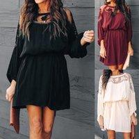 Vestidos Verano 2020 Kadın Elbise Elbiseler Kadın Parti Gece Uzun Kollu Elbise