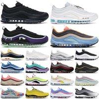 max 97 97s 97 scarpe da corsa outdoor 97s uomo donna scarpe da ginnastica Bred oro nero Sean Wotherspoon Halloween Tie Dye scarpe da ginnastica sportive da donna