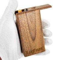 Faidman Mader Dogout Case 102 mm Hecho a mano DuGout con cerámica Un bateador Herramienta de limpieza de metal Tabaco Fumar tubos al por mayor