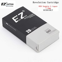 EZ Revolution Cartridge Tattoo Needles Round Liner #08 0.25mm Bugpin Long taper 1 3 5 7 9 11 for machines and grips 20pcs  lot 210608