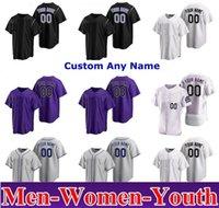 Colorado Men Женщины Дети Молодежь Nolan Arenado 2021 Бейсбол Майки Скалистые горы Тревольные истории Чарли Blackmon David Dahl Daniel Murphy Ian Desmond Ryan Jersey