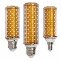 Lampadine Smart LED Lampadina Lampadina E27 E14 28 W 18 W Candela dimmerabile 220V risparmio energetico caldo / fresco lampada di mais bianco Bombillas Home Dec