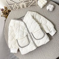 Down Coat MILANCEl 2021 Winter Girl Clothes Cotton Paded Born Korean Tecken Infant Parkas Warm Toddler Outwear