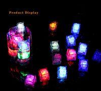 2021 Descompresión Juguete Mini Luces LED Luces de fiesta Color cuadrado Cambio de hielo Cubos que brillan intensamente Parpadeo Flashing Suministro de novedad 8Views   8Transacciones