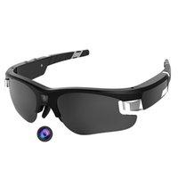 Солнцезащитные очки фабрики фабрики с камерой 1080p HD видеокамера, стрельба на велосипеде, вождение походного рыбалки