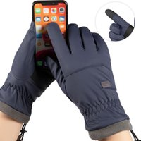 Outdoor Windproof Waterproof Winter Riding Skiing Mountaineering Gloves for Men Gift