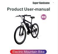 [UE UK US CA Stock] Bicicleta Elétrica M101 250W MOPED MTB 26 polegadas Freio de Disco de E-Bike 10ah 48V 25km / H Max Speed 70km Mountain Cycling Bike