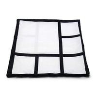 Sublimation Kissenbezug 6 Panels Kissenbezüge Wärmeübertragung Drucken Kissenbezüge Kundenspezifisches Geschenk DIY Blanks Sofa Cover Owe7017