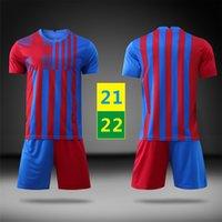 US FAST 2021 HOME JUSSYS Футбольная одежда Мужская бегущая детская униформа футбол тренировки футболки наборы 2022 детей с коротким рукавом костюм трексуиты 22 с логотипом # BSZ-21B1