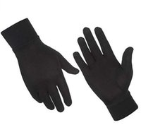 2019 Unisex Merino Glove Glove Liner 100% Australia Merino Lana uomo Guanti da donna Guanti termici Moisture Wicking Antivento Taglia XS-XL Y0910
