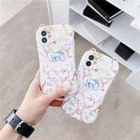 Fashion Designer Elepant Butterfly Cat Ear Cell Phone Cases for Iphone 12 11 Pro max Xs Xr 7 8plus