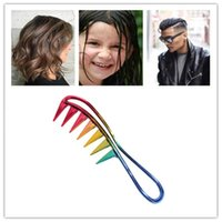Hair Brushes Wide Tooth Plastic Curly Comb Salon Styling Tool Fashion Barber Accessories Massage Professional