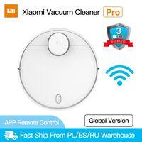 Xiaomi Mi Robot Vacuum Cleaner Pro для дома Mijia STATER STERILIZE Стерилизация автоматического подметания Smart Planged WiFi приложение для дистанционного управления WiFi