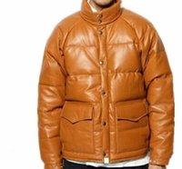 DesignerFashion 남성 여성 자켓 도착 겨울 두꺼운 코트 디자이너 레이블 브라운 컬러 캐주얼 고품질 Parkas M-3XL