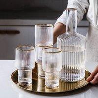 Tasses Verre Eau froide Bouilloire Bureau Café Thé Vin de vin Coupe Chaleur et résistant Accessoires de cuisine Outils ménagers