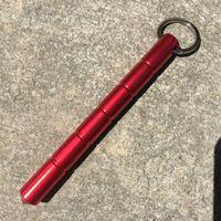 Massive Selbstverteidigung Keychain Ringe Keyringe Metall Taktische Werkzeug Frauen Herren Tragbare Bleistift Design Auto Schlüssel Ketten Zubehör 631 K2