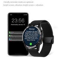 Designer Luxury Brand Klockor Smart Man Kvinnor Full Touch Bluetooth Call Mäns Fitness GT 2 Anslut Samsung Apple Android Smart