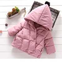 Baby Cotton-Padded Clothes Women 0-3-6 Years Old Girls Winter Warm Quilted Jacket Children's Hooded 210529