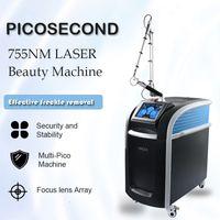 Pico Laser Machine Tattoo Remoção Lazer Para Venda Alta Power Pichosecond Ponteiros Verdes 3 Sondes