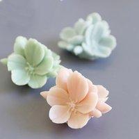 공예 도구 3D 벚꽃 꽃 촛불 석고 금형 초콜릿 베이킹 데코 사쿠라 금형