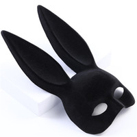 WJH784 Bunny Máscara Halloween Tridimensional Steampunk Masker Carnaval Couro Cosplay 3D Coelho Masque