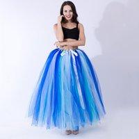 Gonne da donna 100 cm Made in tuù Tutu Tutu Fluffy per Bridal Poshoots Personalizzato Adulti Balletto Show Long Tutus Ball Gown Gonna