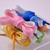 1 Pair Shoelaces Shoelaces Candy Gradient Party Stivali da campeggio Shoelace Canvas Strings Scarpe da campeggio Scarpe da campeggio pizzo crescita arcobaleno