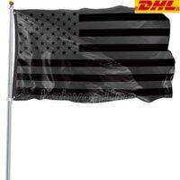 3x5ft черный американский флаг полиэстер без четверти не будет дан нам США историческая защита баннер флага двухсторонний крытый на открытом воздухе 496