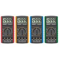 Zamanlayıcılar LCD Dijital Multimetre Voltmetre Ampermetre Kapasitans Ölçüm Güç Faktörü Çok fonksiyonlu Metre 18x9x3.5 cm