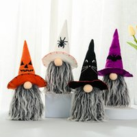 Party Supplies Halloween Decoration Rudolph Faceless Doll Ornaments Bat Top Hat Gnome Dolls Kids Toys Gifts Horror Props