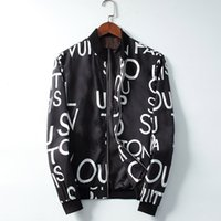 Moda dos homens designers jaqueta casaco esportes moda casacos moletom moletom com manga longa zipper windbreaker homens roupas tops m-xxl