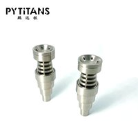 (Fabrik direkt sälja) Titan carb lock med platt tips dabber passform för 18mm domeless titan nagel
