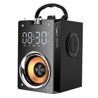 Portable Speakers Bluetooth Speaker Power Outdoor Sports Square Dance VOD Player Smart Wooden Box