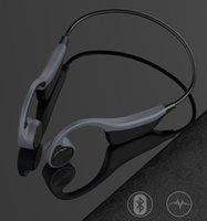 DHL 선박 B2 블루투스 이어폰 무선 스포츠 이어폰 실행 8G 메모리 귀뼈 전도 헤드셋 휴대 전화 헤드폰