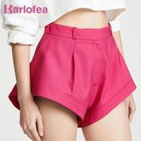 Karlofea Beiläufige Lose Frauen Shorts Chic Hohe Taille Sexy Strand Stil Kurze Hosen Weibliche Mode 2021 Sommer Outfits Straße Tragen Frauen
