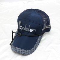 공기 속도 바람 로프 야구 모자 모자 낚시 작업 모자 햇빛 계약 된 유행 남자는 여성 야외 스포츠에서 bask를 방지합니다