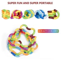 Roller Twist Fidget Toys Anti Adult Brain Relax Decompression Child Rope For Stress Kids Antistress Focus Toy