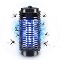 Électronique Mosquito Killer Bug électrique Zapper Lampe Anti Mosquito Repeller Plug Mosquito Trap Lampe 110V 220V FWE7292
