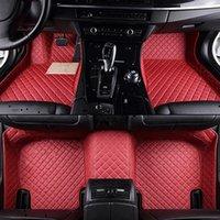 حصيرة جلدية ل Smart All Models Fortwo Forfour Forjeremy Car التصميم مخصص السيارات ماتس السيارات الملحقات NJ