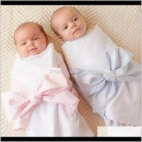Blankets Nursery Bedding Baby, Kids & Maternityborn Baby Swaddle Hold Wrap Warm Infant Envelope Swaddling Pography Shoot Prop Bow Aessories S