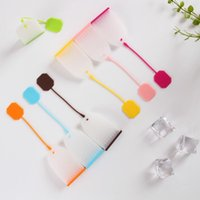 Tea Bag Silicone Infuser Tools Leaf Strainer Loose Herbal Spice Filter Diffuser Coffee EEB6127