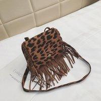 2021 Children's Bag Fashion Tassel Shoulder Mini Messenger Bags Trendy Men And Women Coin Purse