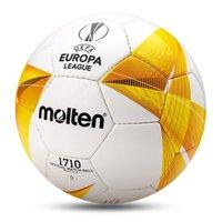 2021 축구 공 Molten Original Professional 크기 5 크기 4 PVC 핸드 스티치 축구 경기 스포츠 교육 리그 공 Futbol