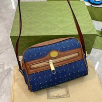 Джинсовые дизайнерские сумки на ремне высокого качества 2021 новые сумки для покупок сумки модные сумки с кожаными сумочками