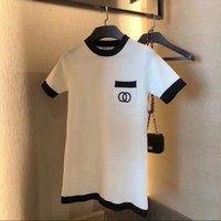 Yaz web ünlü g harfi baskı t gömlek tasarım, saf pamuk rahat örgü moda ve eğlence